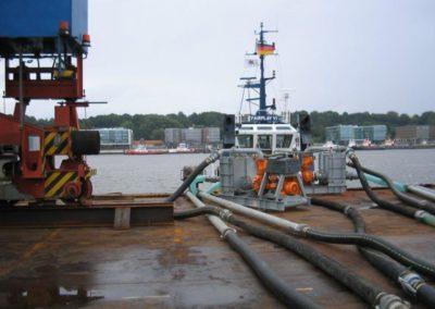 Agregaty Huedig EVA pompują wodę rzeczną